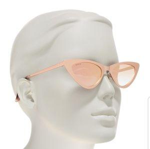 Diff Eyewear Accessories - Diff eyewear Rae Cateye sunglasses himalayan rose